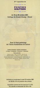 APSC Invitation 2001